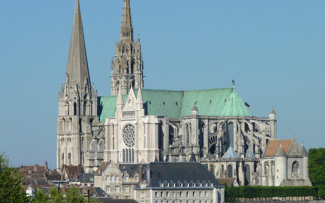 Labyrinthe cathédrales de Chartres